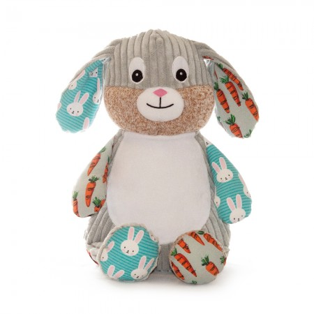 Harlequin Bunny Carrot Edition cubbie