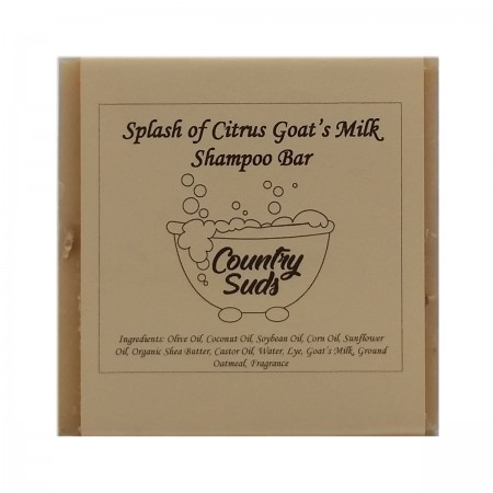 Splash Of Citrus Goat Milk Shampoo Bar