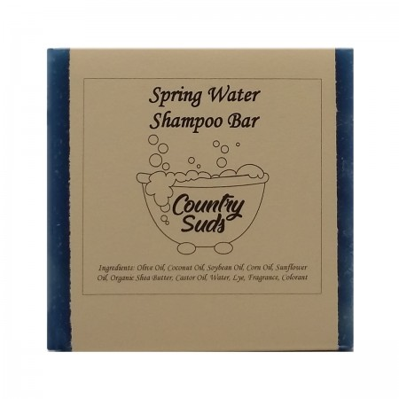 Spring Water Shampoo Bar