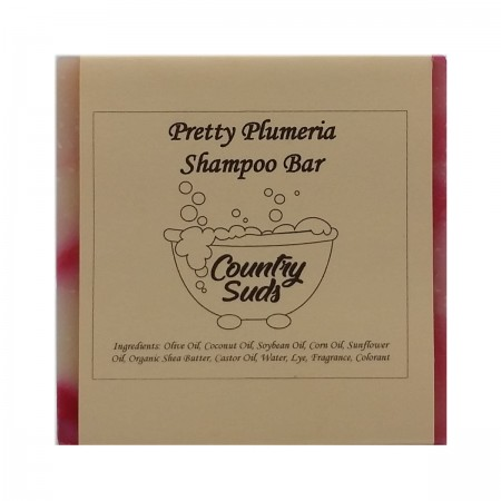 Pretty Plumeria Shampoo Bar