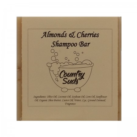 Almonds And Cherries Shampoo Bar