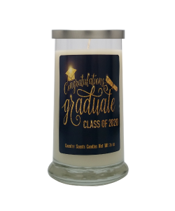 Graduate (Class of 2020) 20 Libbey Candle