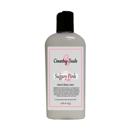 Sugary Pink 4oz Lush Lotion