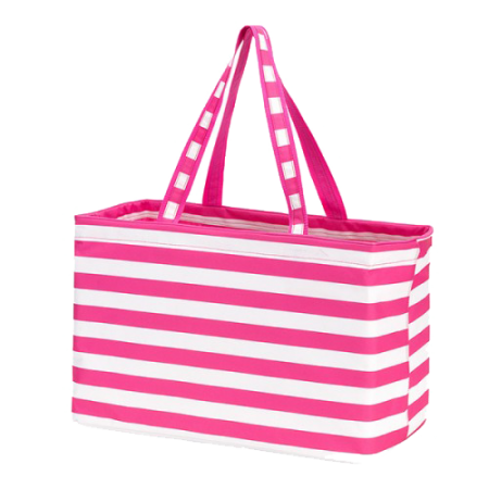 Pink Stripe Ultimate Tote