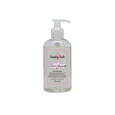 Cherry Blossom Liquid Hand Soap