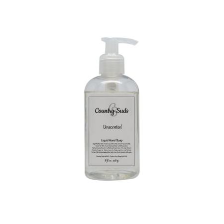 Unscented Liquid Hand Soap