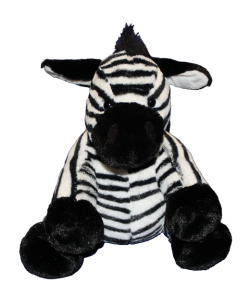 Zippy the Zebra 8 inch