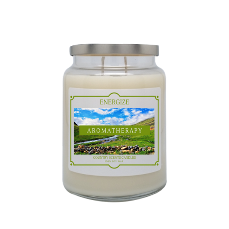 Energize 24oz Double Wick Candle
