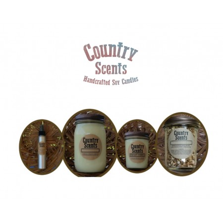 1 -16oz Candle 1-8oz Candles- 1 Jar Of Aroma Beads- 1 Room Spray