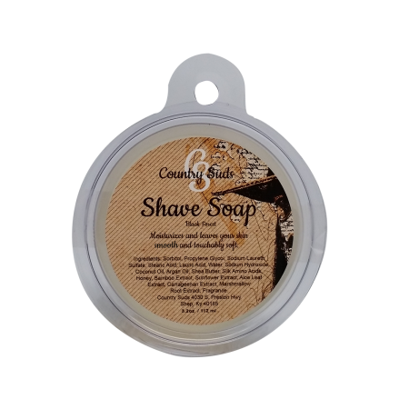 Mens Shave Soap (Black Forest)