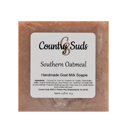 Southern Oatmeal Goat Milk Soapie