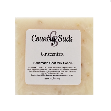 Unscented Goat Milk Soapie