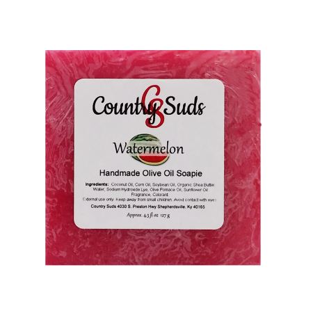 Watermelon Olive Oil Soapie