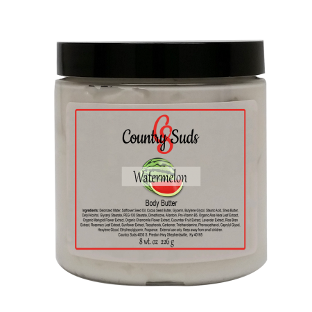 Watermelon 8oz Silky Body Butter
