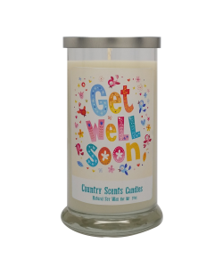 Get Well Soon (multicolor) 20 Libbey Candle