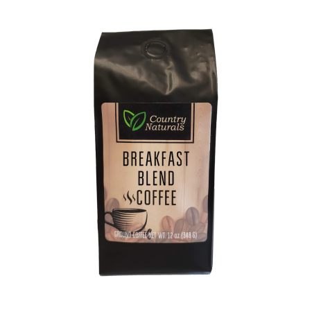 Breakfast Blend coffee 12oz Bag