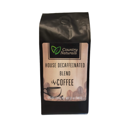 House Decaffeinated Blend coffee 12oz Bag