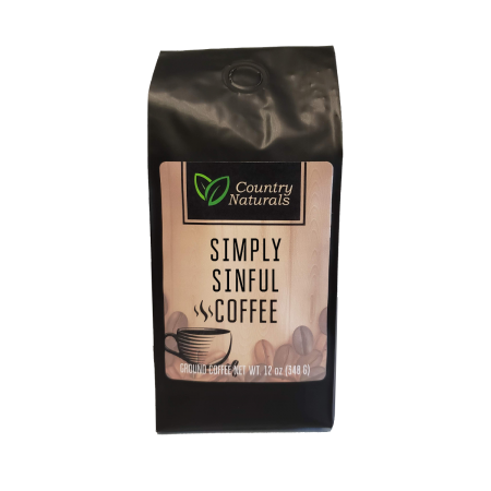Simply Sinful coffee 12oz Bag