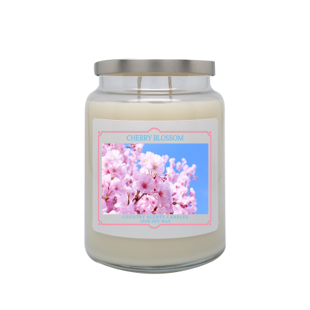 Cherry Blossom 24oz Double Wick Candle