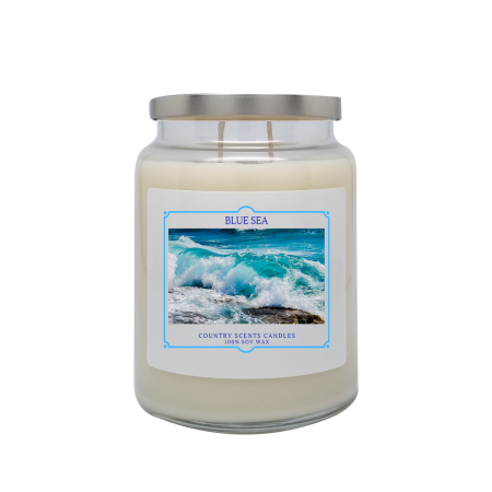 Blue Sea 24oz Double Wick Candle