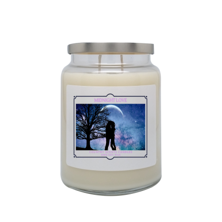 Midnight Love 24oz Double Wick Candle
