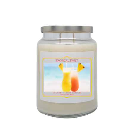 Tropical Twist 24oz Double Wick Candle