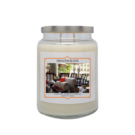 Dragons Blood 24oz Double Wick Candle