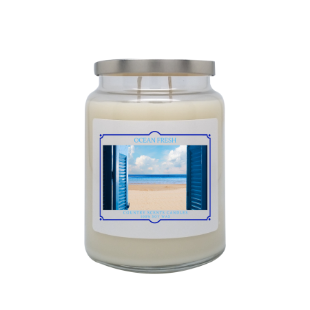 Ocean Fresh 24oz Double Wick Candle