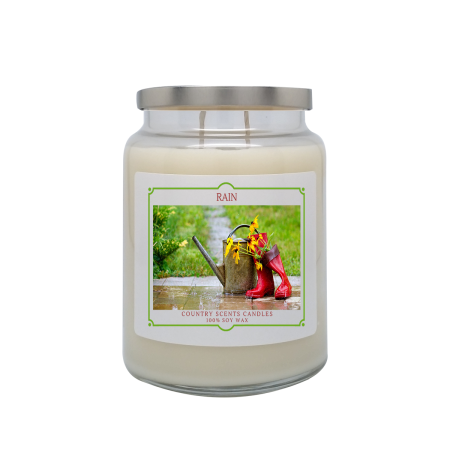 Rain 24oz Double Wick Candle