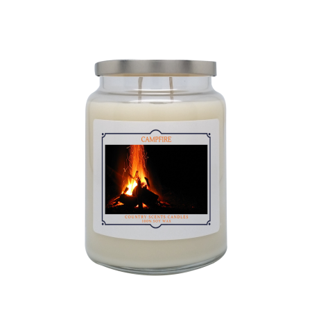 Campfire 24oz Double Wick Candle