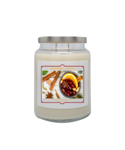 Cranberry Orange 24oz Double Wick Candle