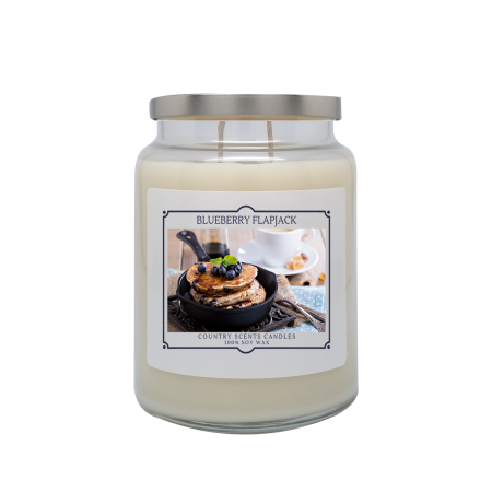 Blueberry Flapjack 24oz Double Wick Candle