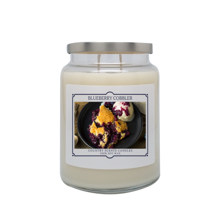 Blueberry Cobbler 24oz Double Wick Candle