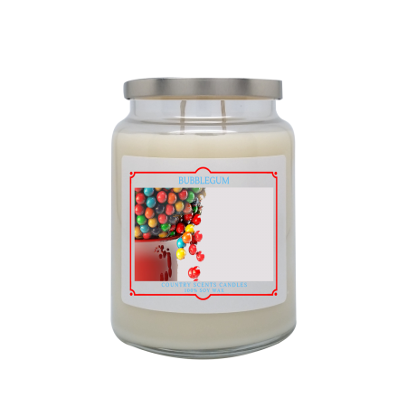 Bubblegum 24oz Double Wick Candle