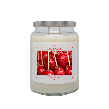 Candied Apple 24oz Double Wick Candle
