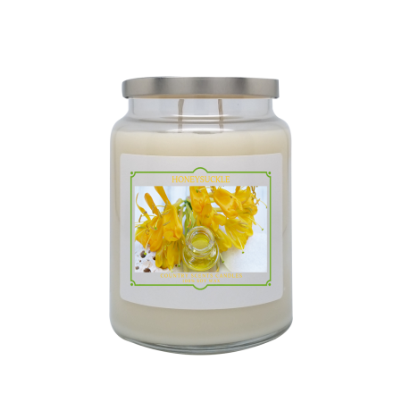 Honeysuckle 24oz Double Wick Candle