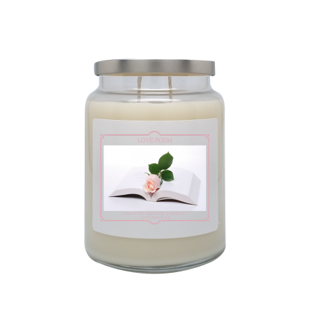 Love Poem 24oz Double Wick Candle