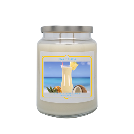 Pina Colada 24oz Double Wick Candle
