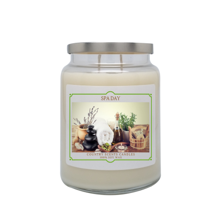 Spa Day 24oz Double Wick Candle