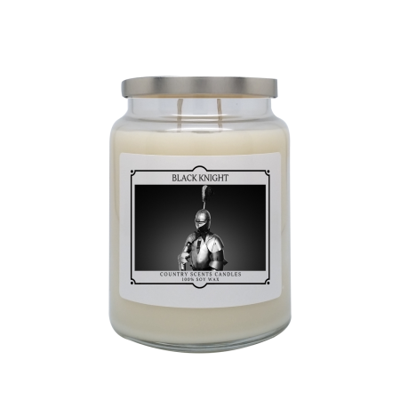 Black Knight 24oz Double Wick Candle
