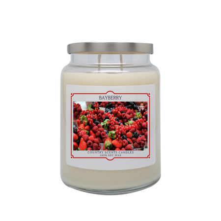Bayberry 24oz Double Wick Candle