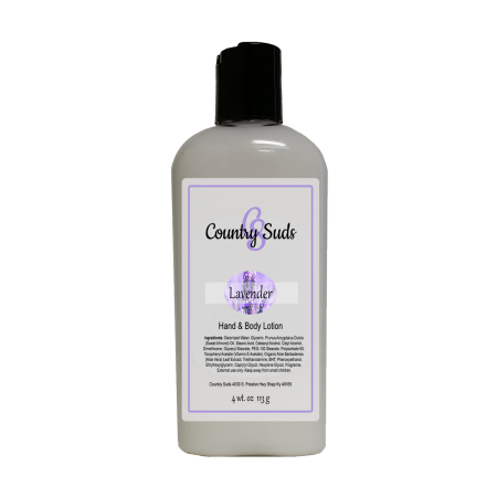Lavender 4oz Lush Lotion