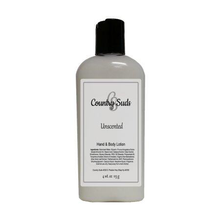 Unscented 4oz Lush Lotion