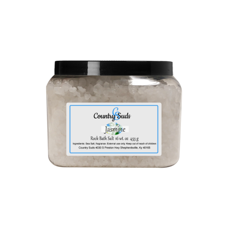 Jasmine 16oz Rock Bath Salt