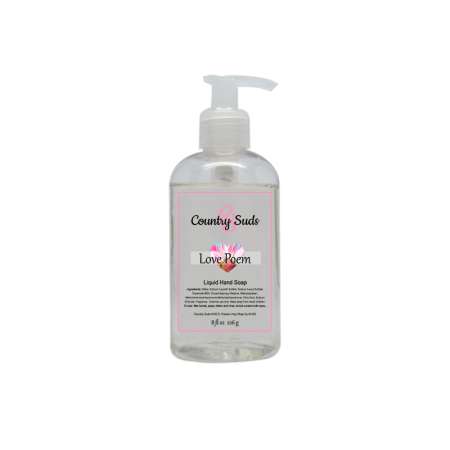 Love Poem Liquid Hand Soap