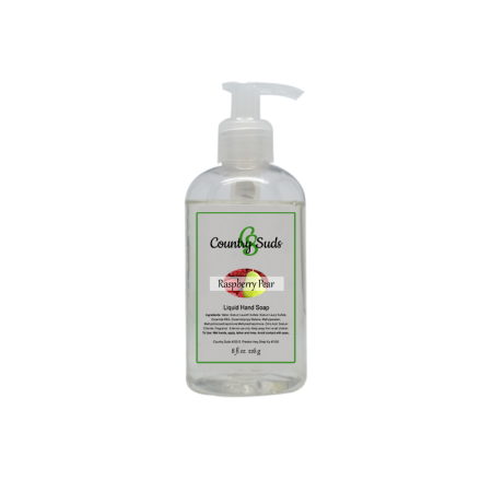 Raspberry Pear Liquid Hand Soap